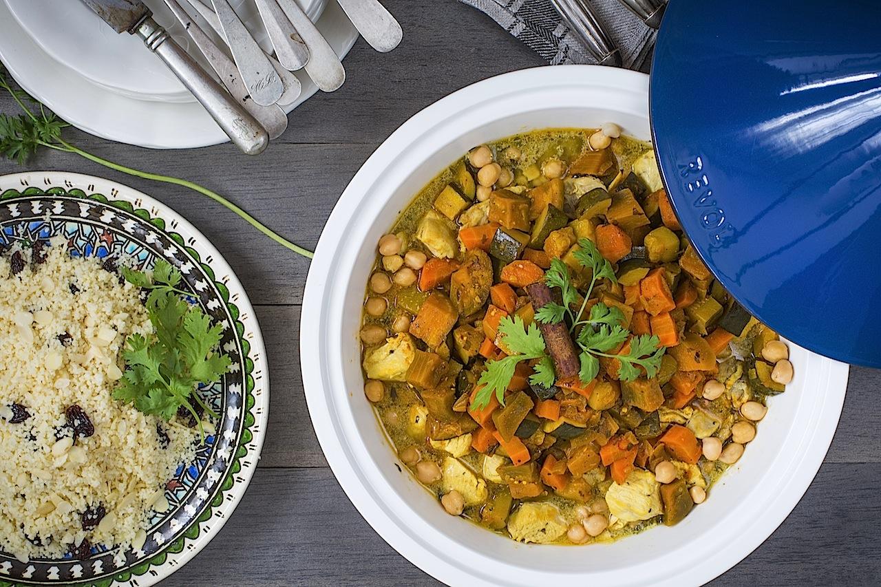 Cous Cous De Pollo Con Verduras Marruecos En Tu Mesa