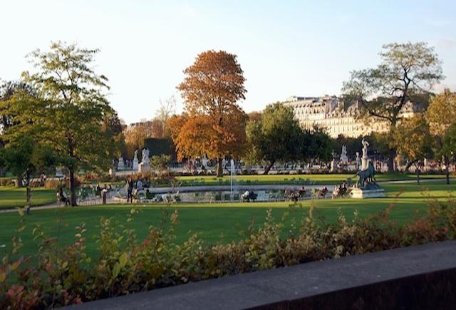 Los jardines de Tullerías. París