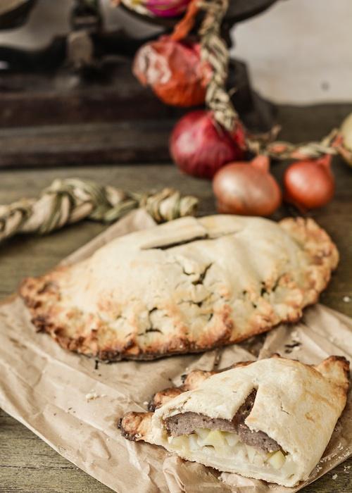 Empanadas de Cornualles. Cornwall pasties