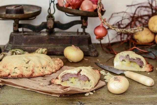 Cornish pasties. Cornwall pasties