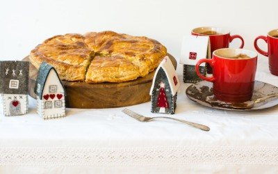 Galette de Rois. French cake of Kings