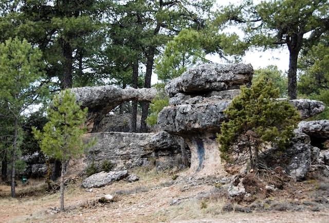 La Ciudad Encantada. Las rocas de Cuenca