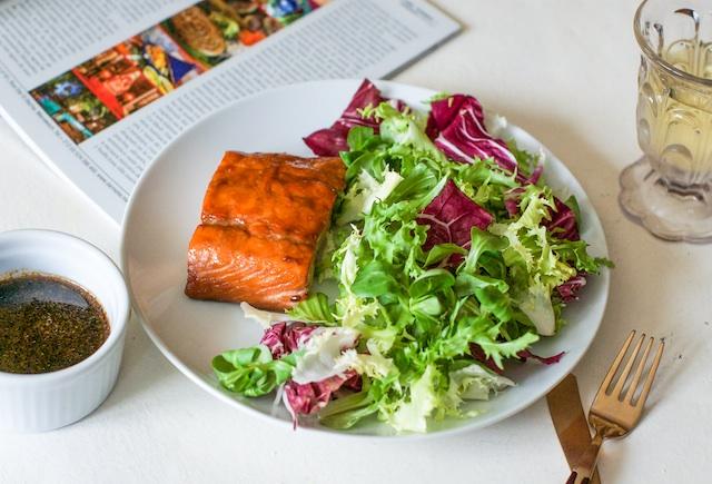 Salmón al horno | Marinado con mirin y soja