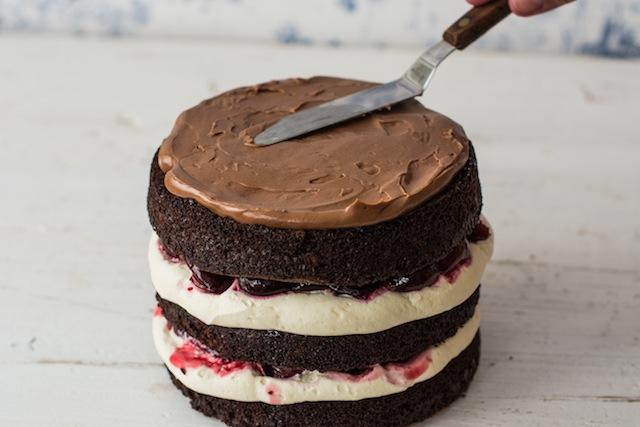 Cake chocolate jungle Black 8 (1 of 1)