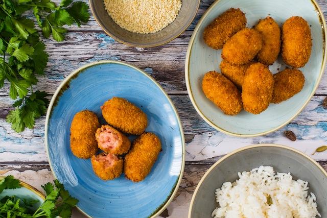 Croquetas de pollo Tandoori 3 (1 de 1)