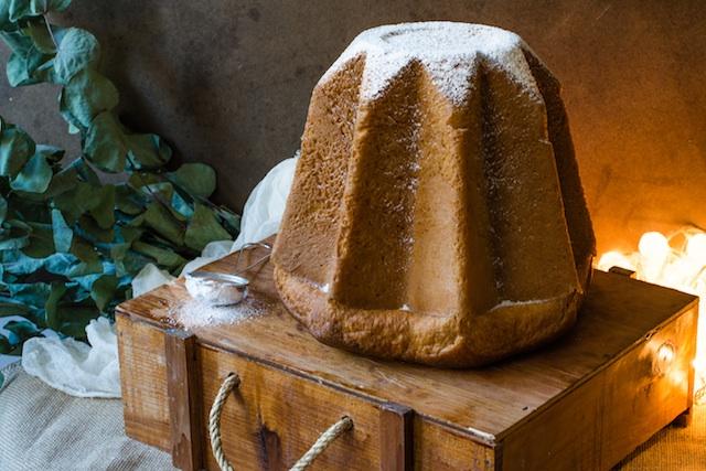 Pandoro. El dulce italiano de la Navidad
