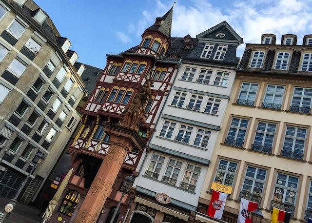 Römerberg, the surprise of Frankfurt. Jam of pumpkin with vanilla 11 (1 of 1)