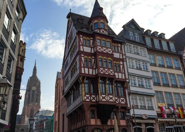 Römerberg, the surprise of Frankfurt. Jam of pumpkin with vanilla 12 (1 of 1)