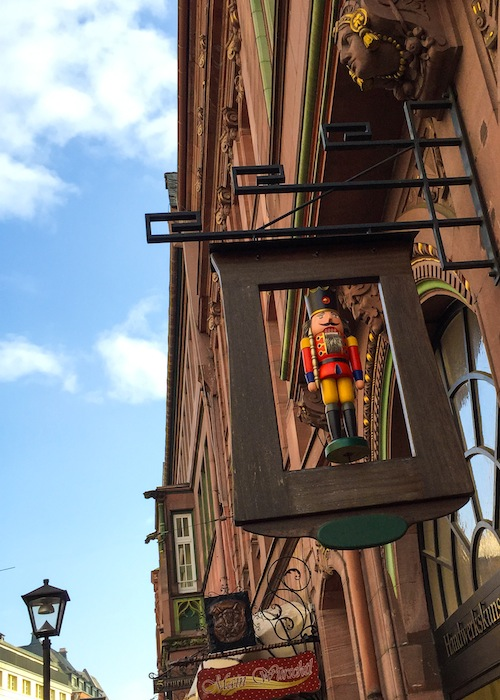 Römerberg, the surprise of Frankfurt. Jam of pumpkin with vanilla 14 (1 of 1)