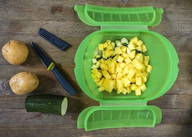Curry verde de pescado y verduras-6