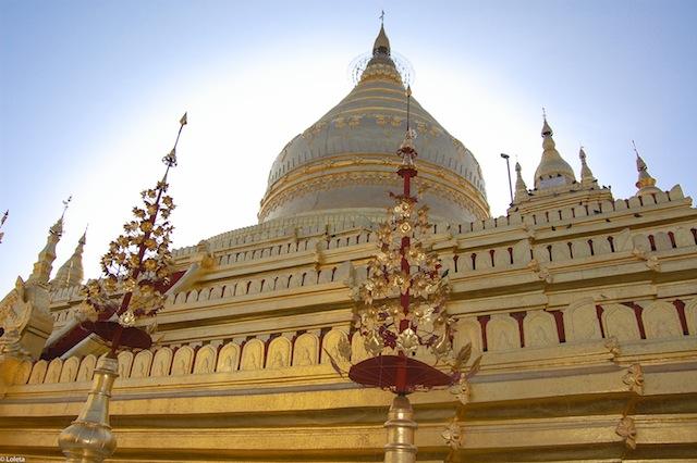 Shwezigon pagoda. Cream mousse of yuzu 14-1