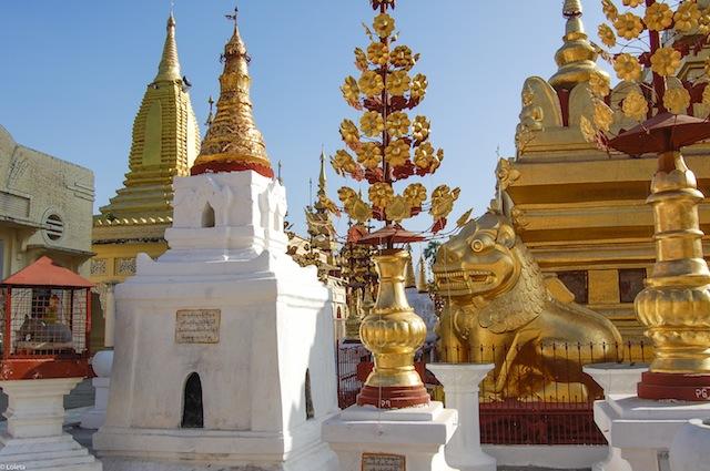 Shwezigon pagoda. Cream mousse of yuzu 15-1