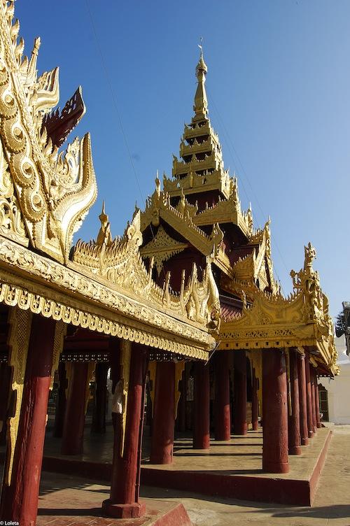 Shwezigon pagoda. Cream mousse of yuzu 16-1