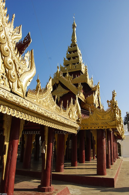 Pagoda Shwezigon. Crema mousse de yuzu 16-1