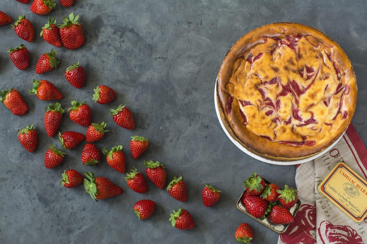 Cheesecake con fresas 1