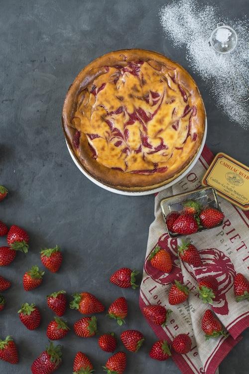Cheesecake con fresas 3