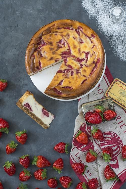 Cheesecake con fresas 4
