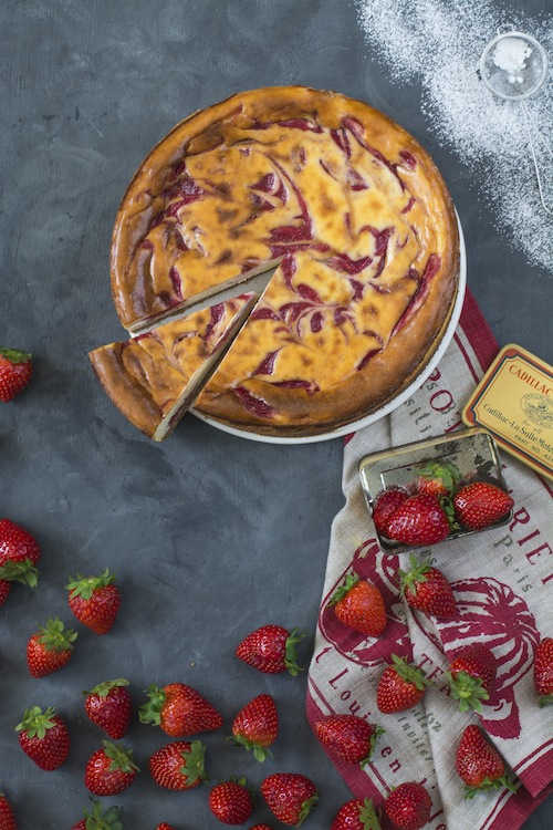 Cheesecake con fresas 5
