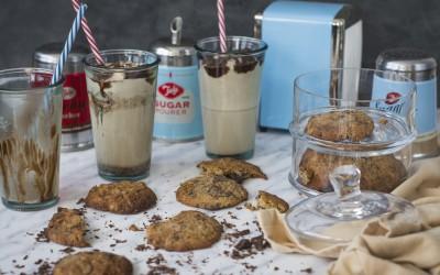 Cookies de plátano, chocolate y nueces. Banana Cookies