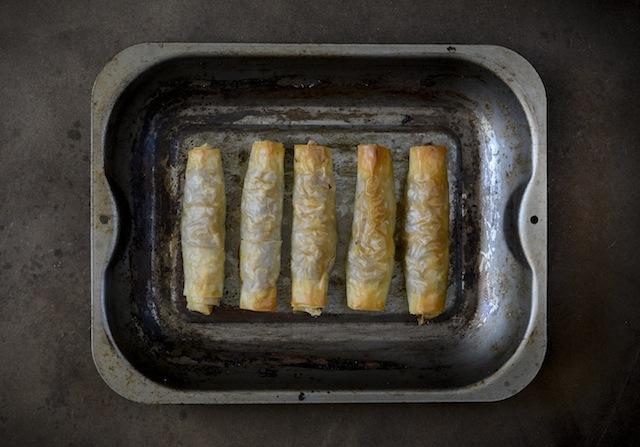 Pastela de pollo y almendras 1