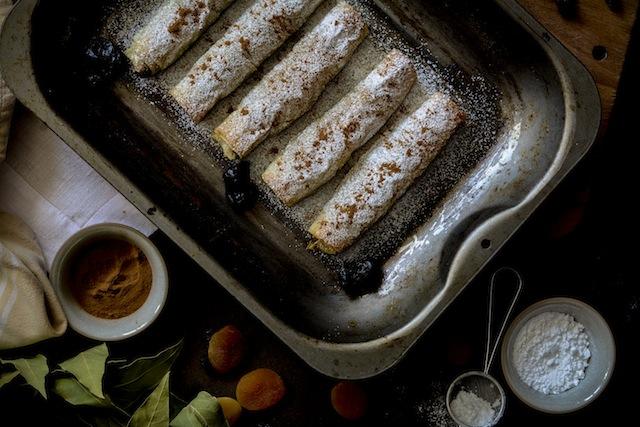 Pastela de pollo y almendras 3