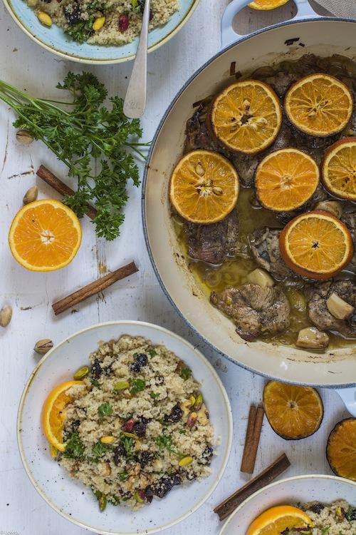 Filetes-de-pierna-de-Cordero-con-MIEL-y-taboule-de-Frutos-secos-4