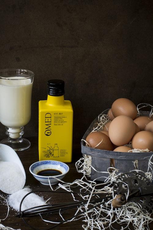 Helado de aceite de oliva con yuzu 1