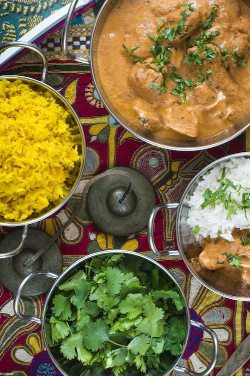 Pollo hindu con mantequilla. Murgh Makhani 4