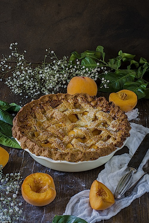 Peaches and apricots 9 cake