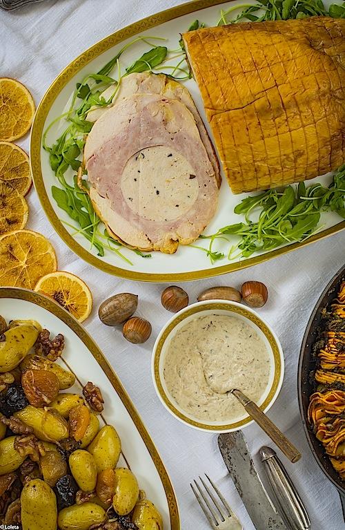 Capon-relleno-con-Gratin-de-batatas-12