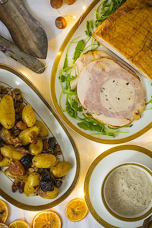 Capon-relleno-con-Gratin-de-batatas-8