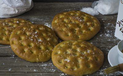 Tortas de pan de aceite. Tortas de Aranda