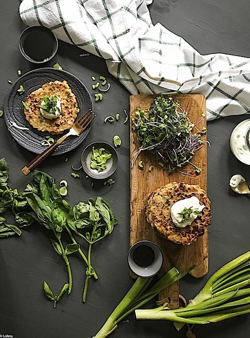 Tortitas de coliflor 5