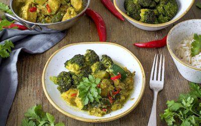 Pollo al curry con coco. Receta de Galle al sur de Sri Lanka