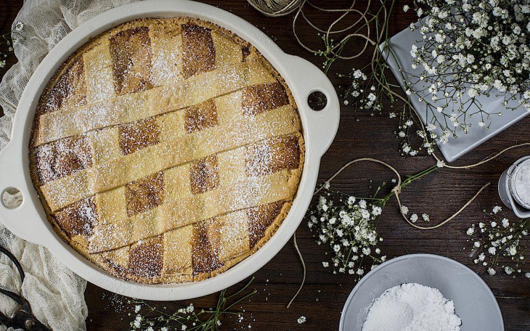Pastiera napolitana. La tarta de Pascua en italia