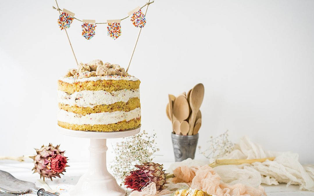 Tarta de cumpleaños. Momofuku Milk Bar birthday cake