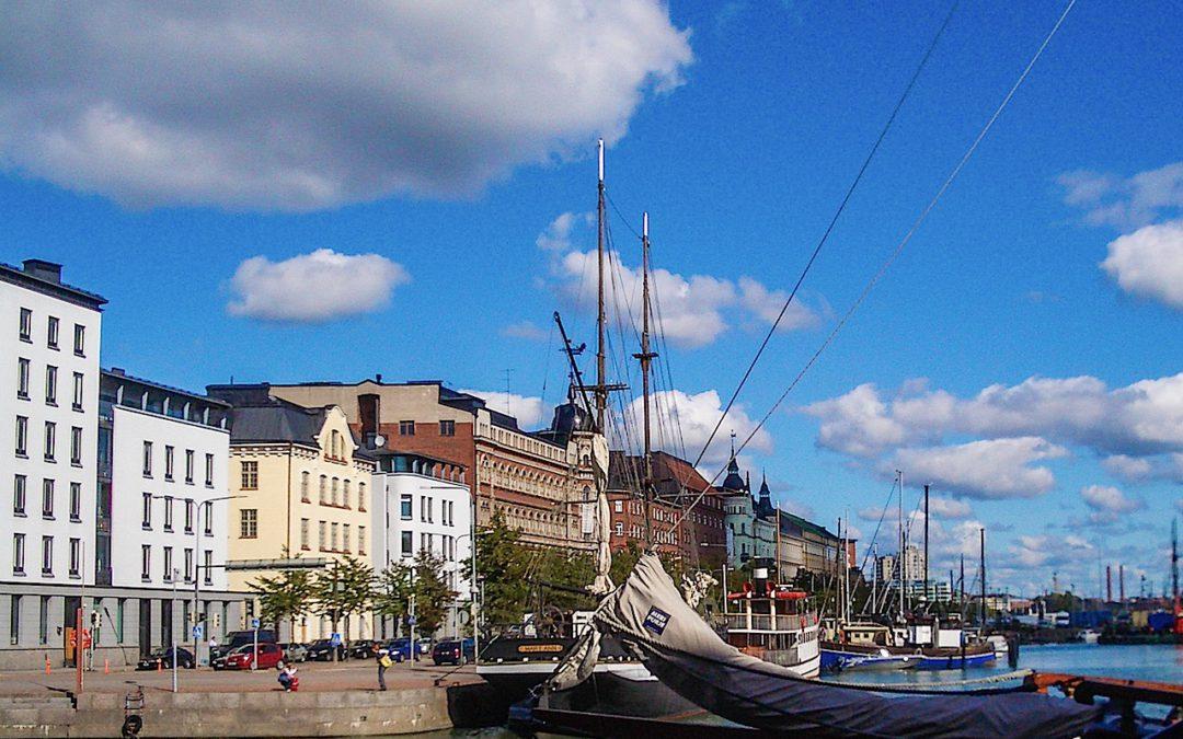 De ruta en bici por Helsinki