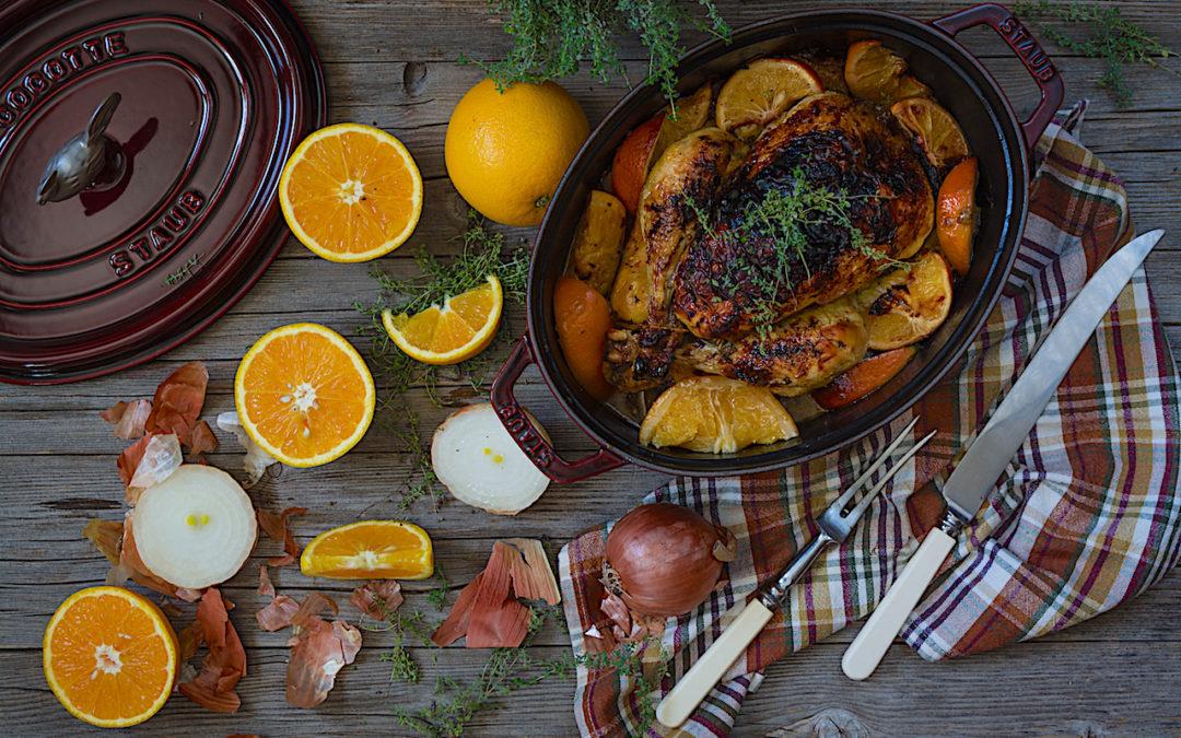 Receta fácil de pollo a la naranja ideal para el tupper del colegio
