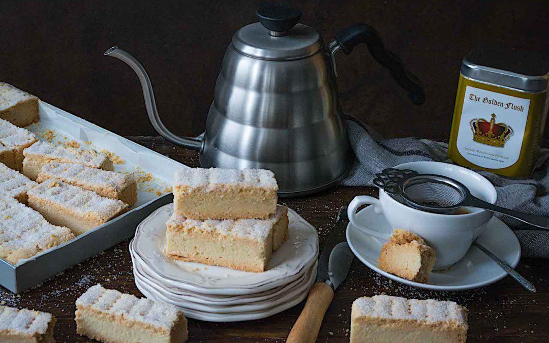 Shortbread o galletas de mantequilla. Las galletas del Té de Buckingham Palace