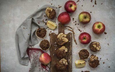 Receta fácil de las mejores magdalenas de manzana sin gluten y sin lactosa