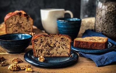 Easy recipe for Banana bread or banana lactose-free sponge cake