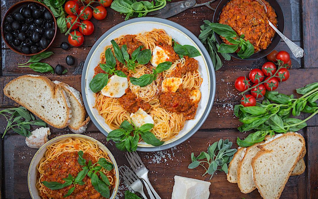 Boloñesa vegetal. La nueva salsa para pasta Chez Loleta