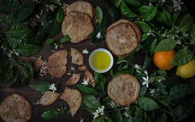 Receta fácil de tortas de aceite con azúcar y anís. Las de toda la vida