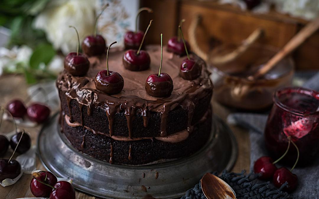 Pastel de chocolate con aceite de oliva.