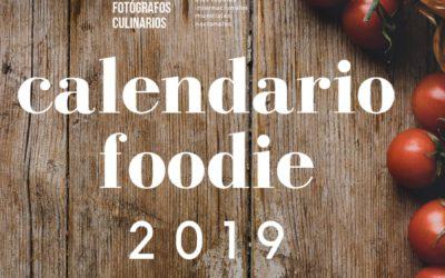 Foodie 2019 calendar. The year