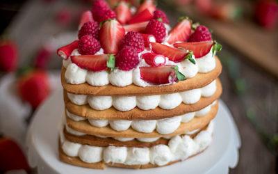 Tarta de galletas de San Valentín. La tarta de las bodas de Oro de mis padres
