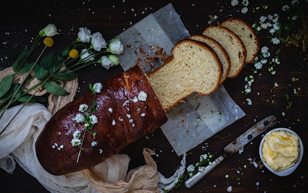 la-receta-mas-facil-de-pan-brioche. El mejor pan para torrijas