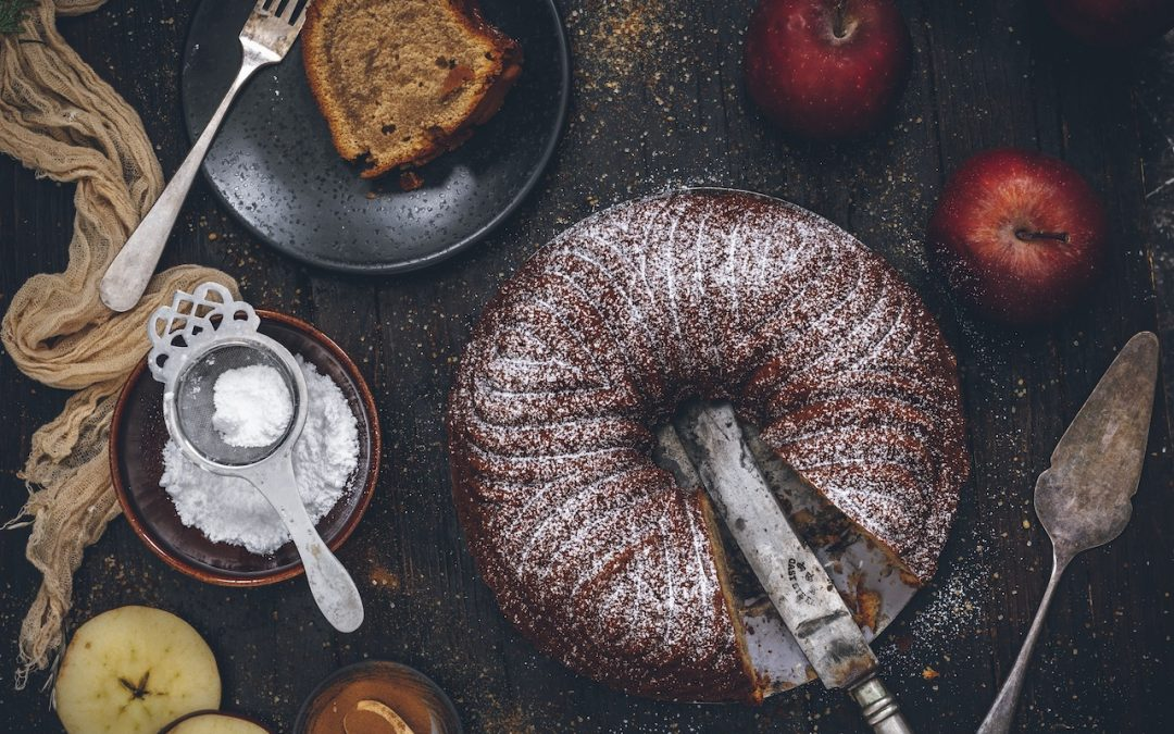Ginger cake with cider. Welcome New Year