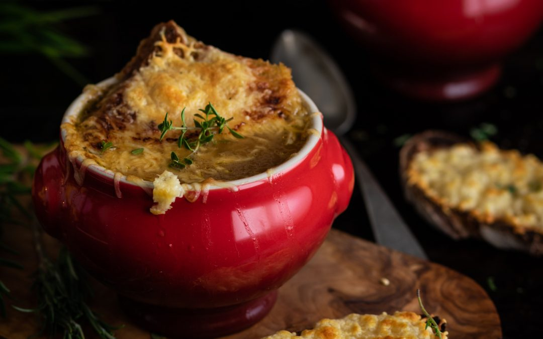 Sopa de cebolla. Perfecta para los días de frío