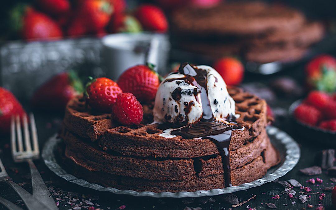 Gofres de chocolate. La receta definitiva para triunfar en casa